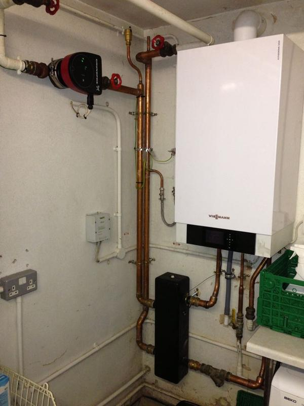 Image 20 - MHS Boiler Replaced with New Viessmann Vitodens 200W 2 of 2