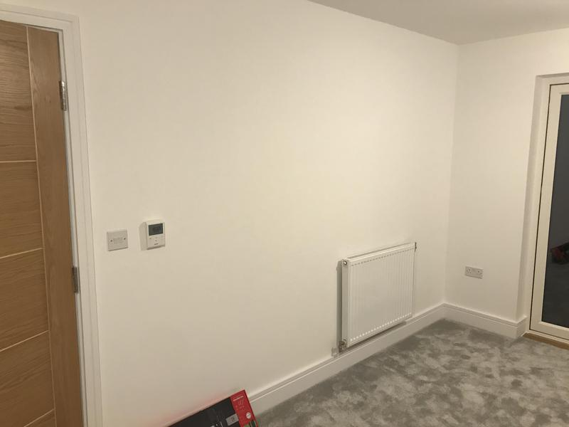 Image 1 - Before TV goes on wall