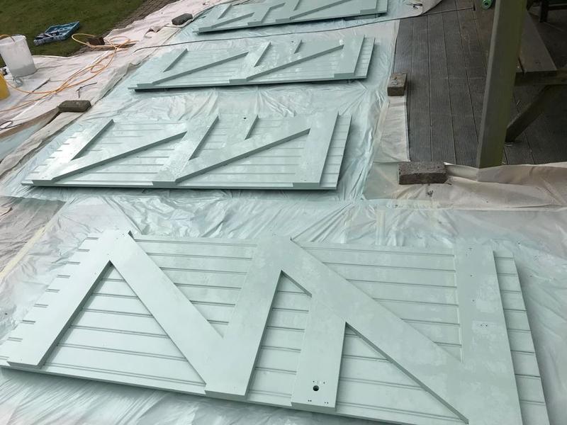 Image 7 - airless sprayed doors
