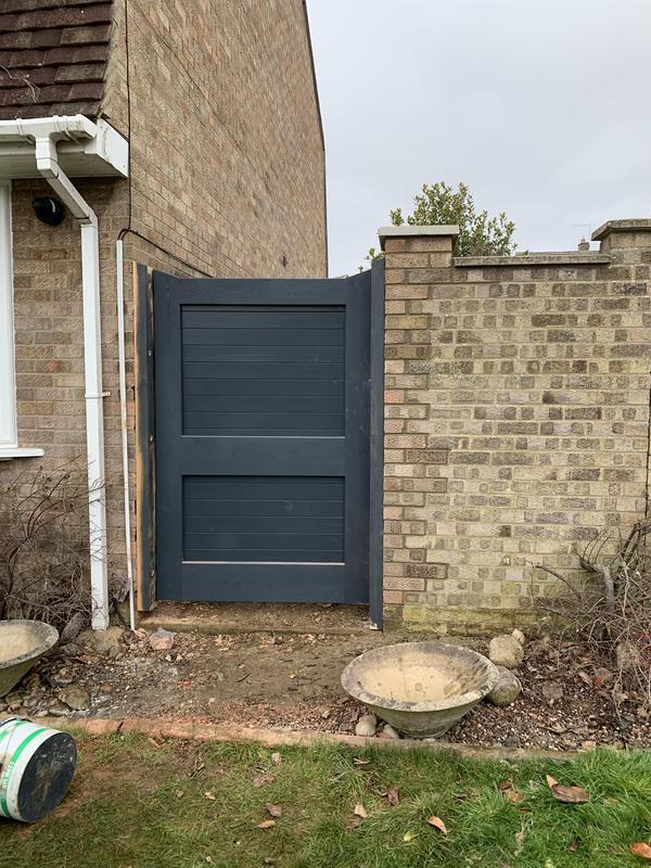 Image 7 - Bespoke garden gate 2