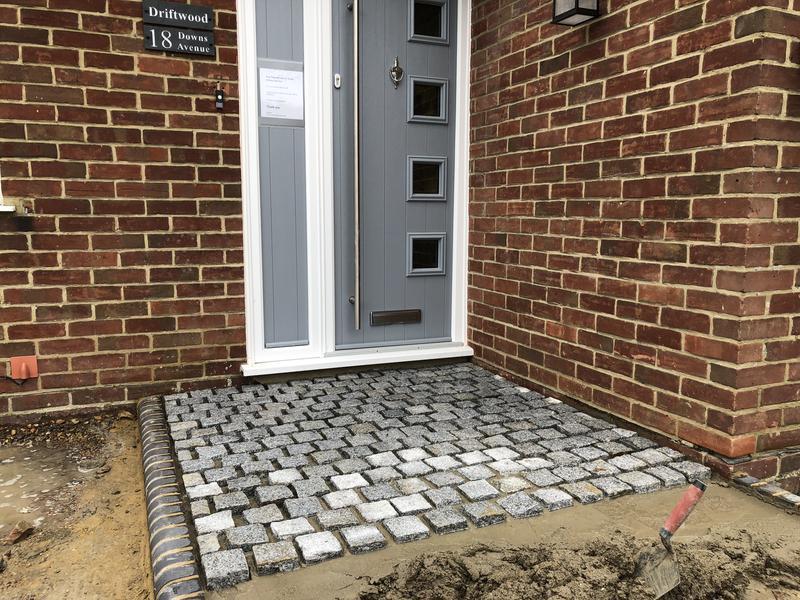 Image 90 - Granite sett pathway Whitsatble