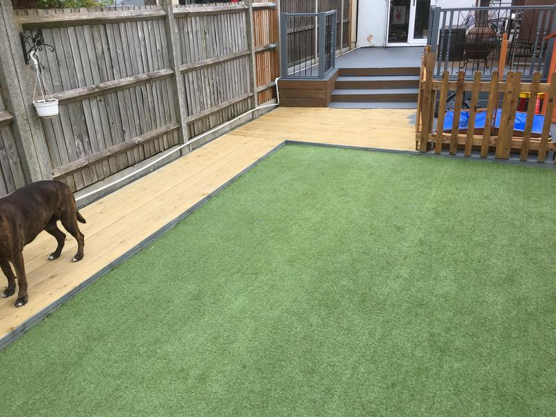 Image 48 - Decking and AstroTurf