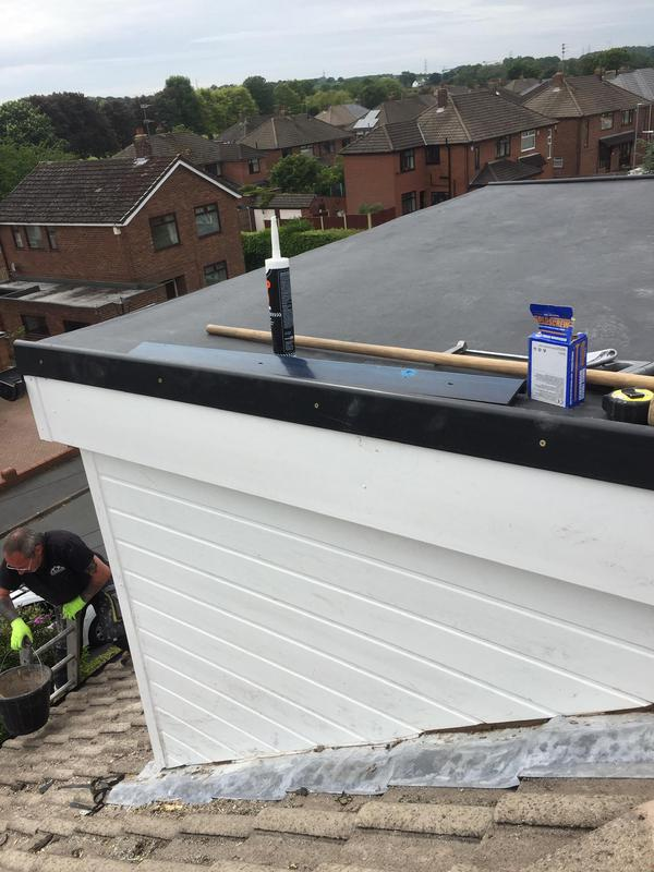 Image 45 - Firestone rubber roof with UPVC cladding and fascia