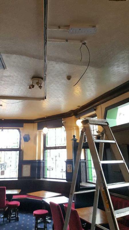 Image 14 - Pub lighting installation