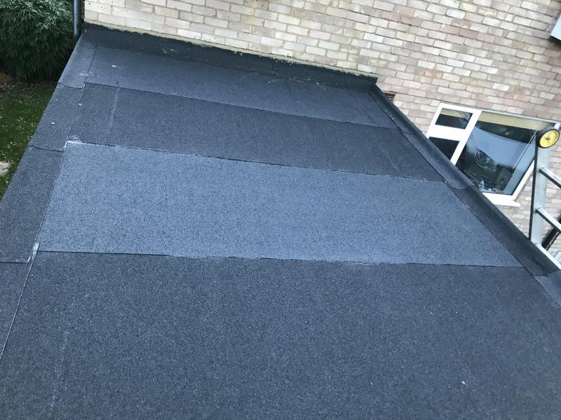 Image 11 - New felt roof