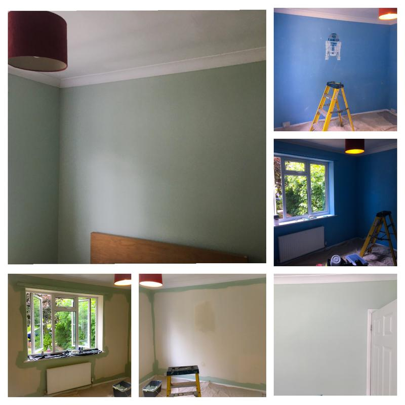 Image 21 - Colour change and wall fixing