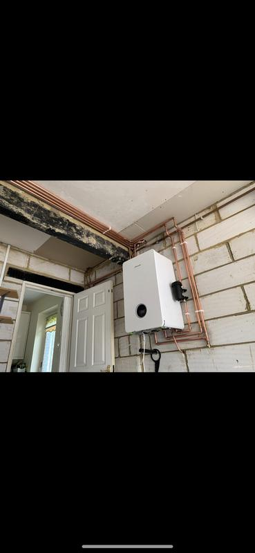 Image 56 - New worcester system boiler installation