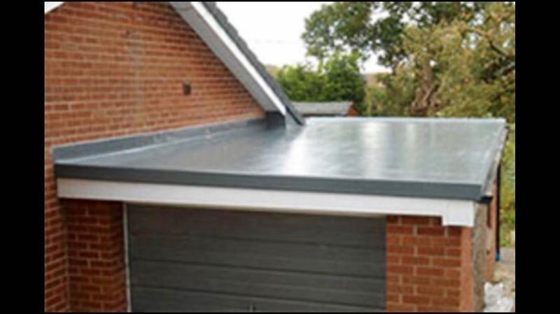 Image 9 - New fibreglass roof