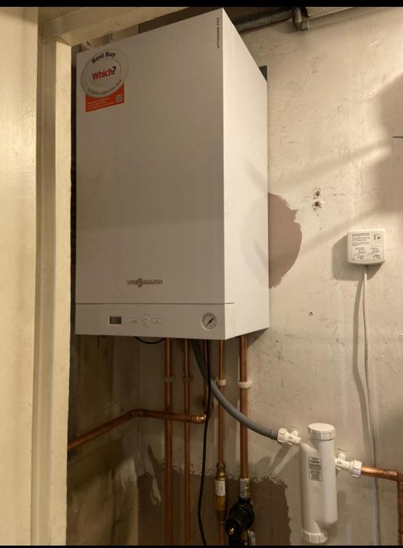 Image 48 - New Viessmann boiler installation with 7 years warranty and 7 years free services included