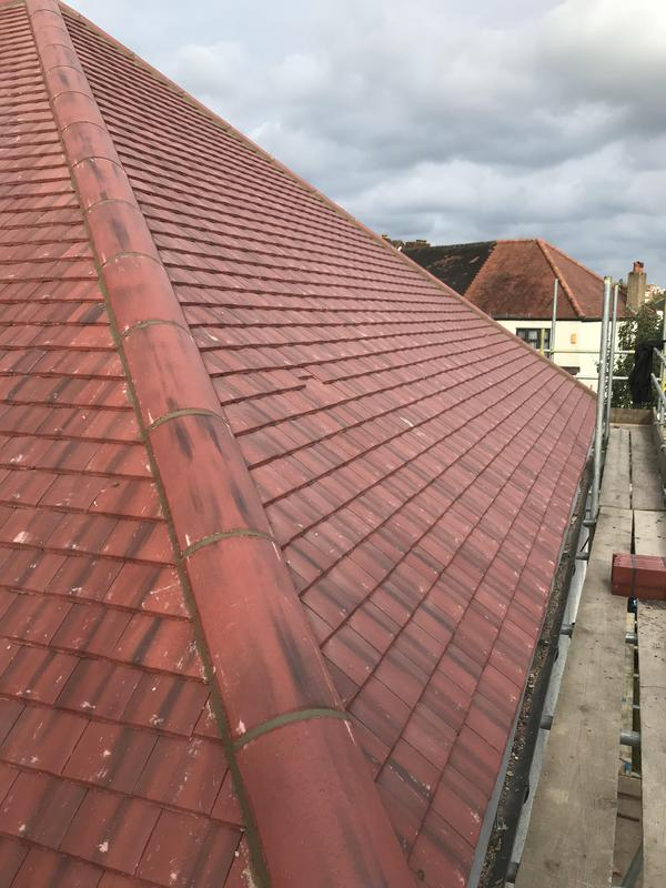 Image 52 - New roof installed using new felt,battan and tiles.