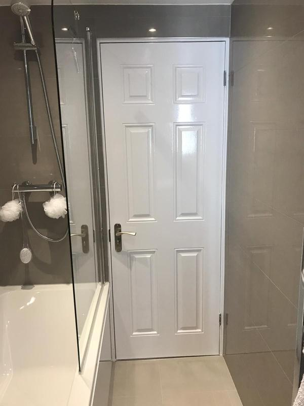 Image 4 - This is a bathroom completed after treating the walls with rising damp.