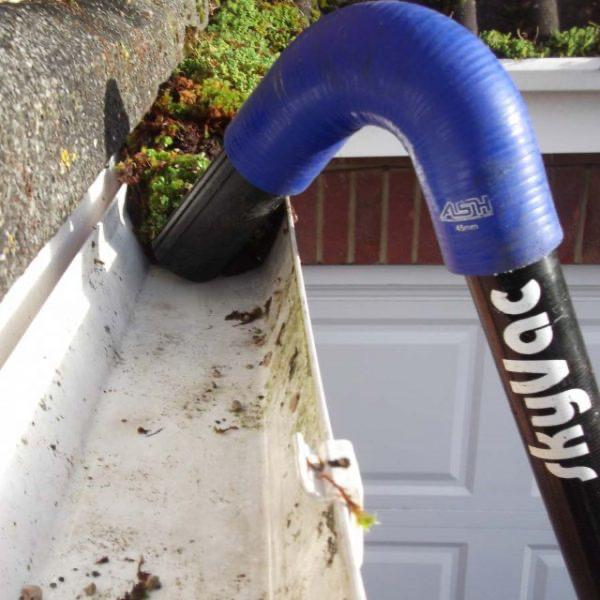 Image 8 - Gutter cleaning & repairs including debris removal