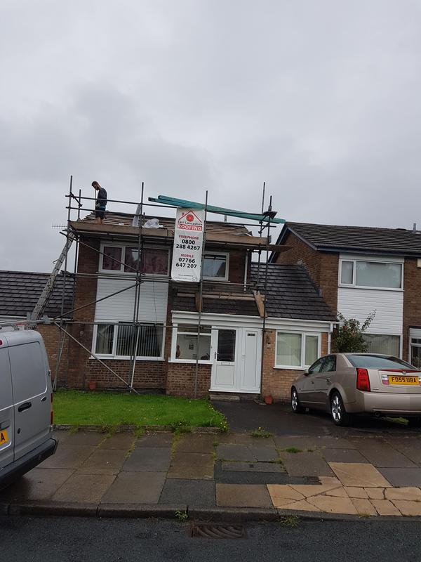 Image 18 - Replacing old porous tiles with new in Burnley