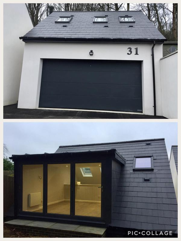 Image 22 - New Double Garage with self contained annex above.
