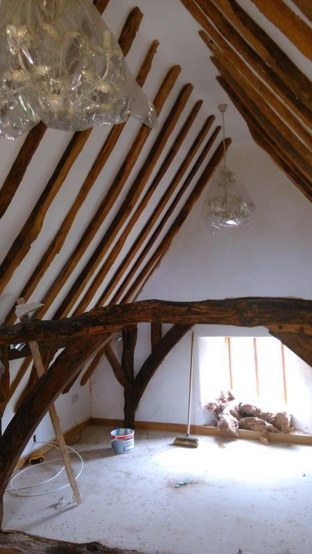 Image 3 - Interior painting of old cottage in Stonely