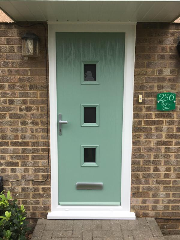 Image 113 - Eastwood- Chartwell green composite door