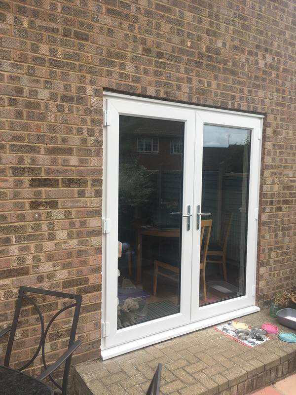 Image 112 - Eastwood-White UPVC French doors