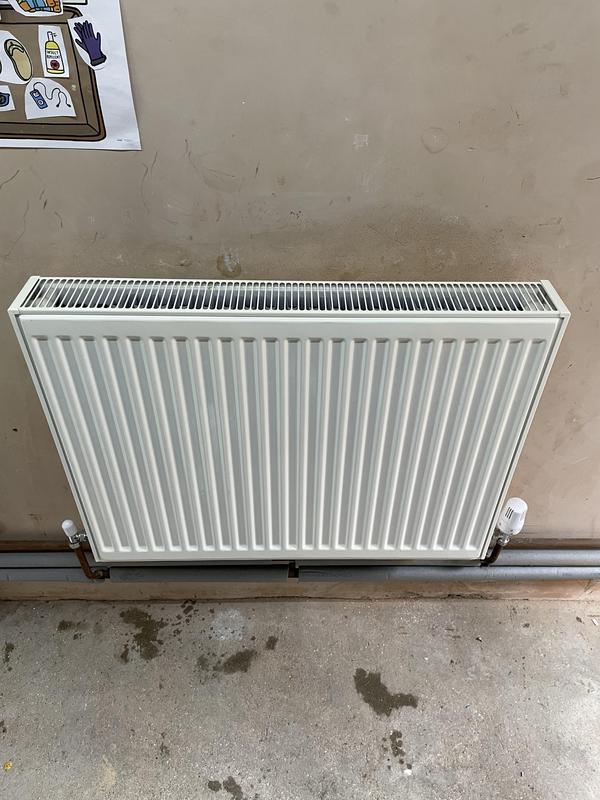 Image 3 - New radiator installation