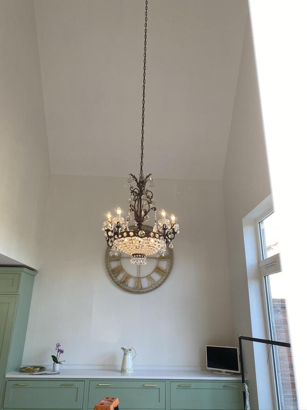 Image 4 - Chandeliers suspended over 4m