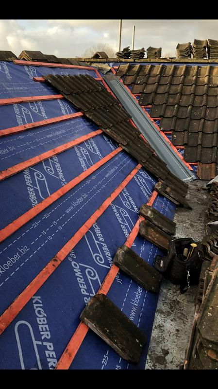 Image 35 - Re- roof with new valley in Clevedon