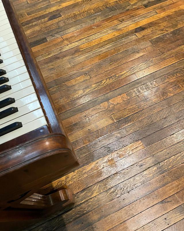 Image 3 - Reclaimed oak floor restored