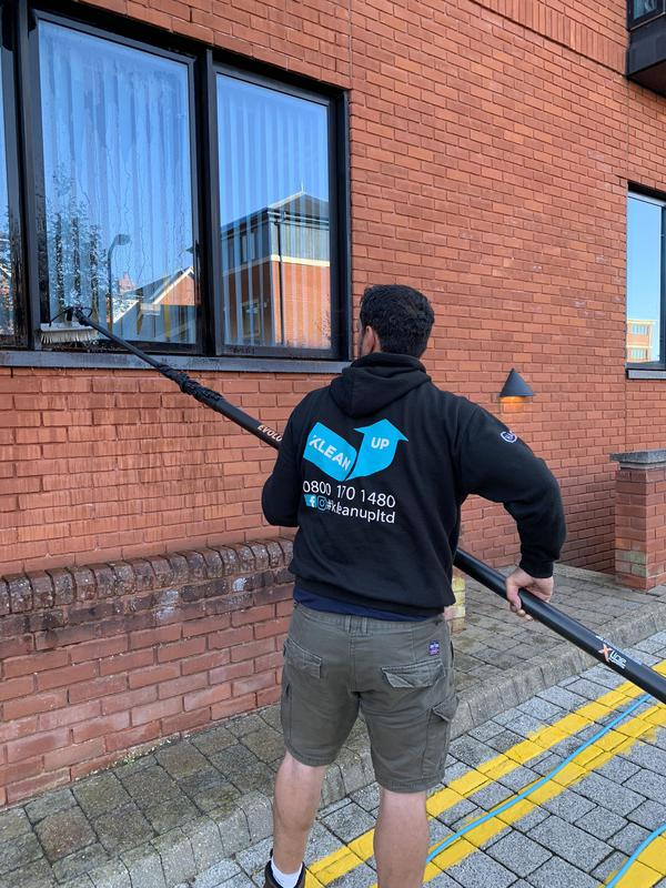 Image 9 - Window cleaning offices with hot reach & wash