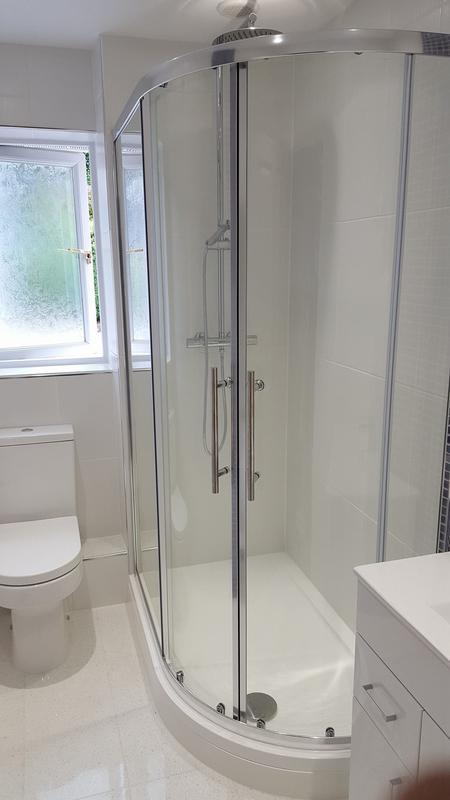 Image 39 - Complete bathroom refit - see our facebook page for before pictures!