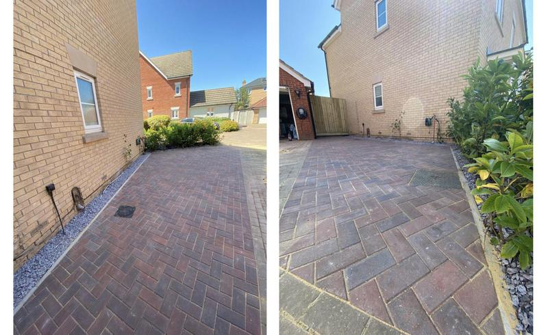 Image 1 - 47- all shrubs cleared and block paving drive extended