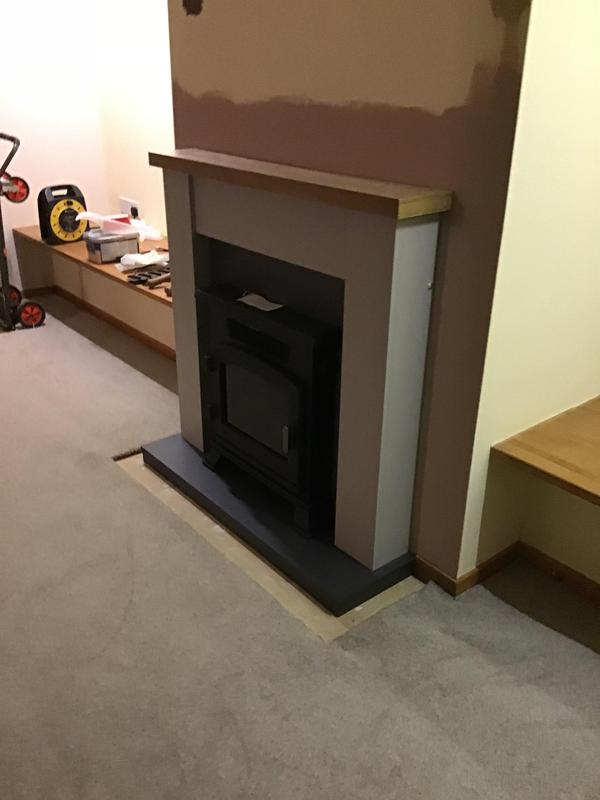 Image 13 - New electric fire and surround installed