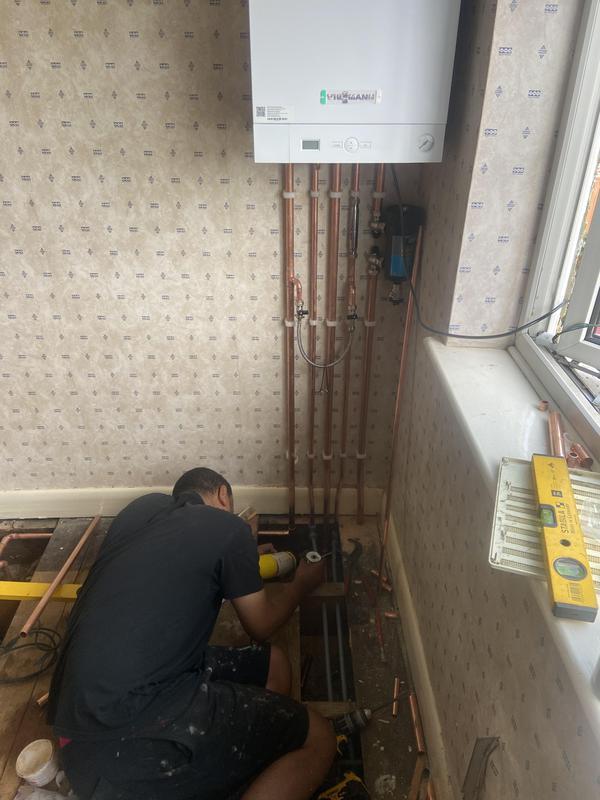 Image 7 - New Viessmann boiler installation
