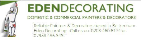 Eden Decorators logo