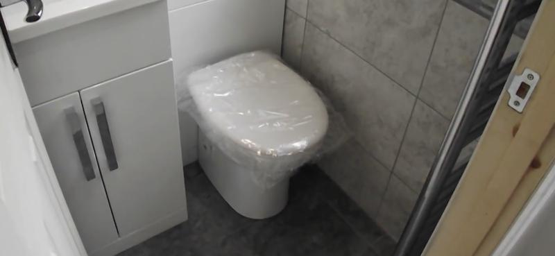 Image 3 - Small bathroom in a loft conversion.
