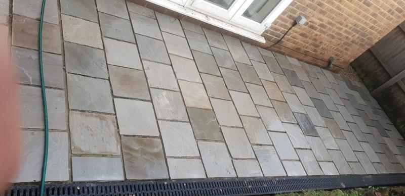Image 4 - 300 x 300 Indian sandstone dove grey patio customers request