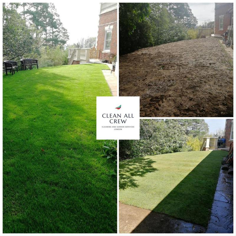 Image 13 - Re turfing and garden maintenance
