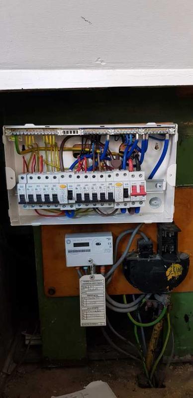 Image 26 - Consumer Unit upgrade