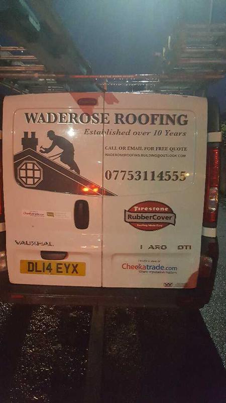 Waderose Roofing logo