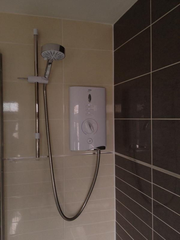 Image 17 - Electric Shower installation
