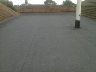 Image 12 - New flat roof using 3 layer built up felt method