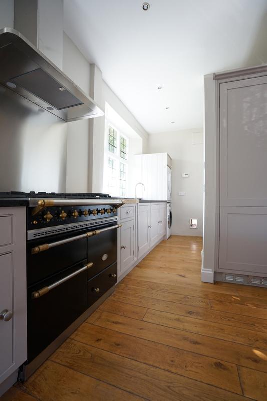 Image 148 - Farrow & Ball colours on a lovely handmade kitchen (from cream to two contrasting grey's).