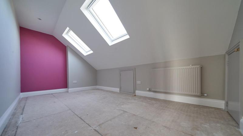 Image 50 - Newly painted and professionally finished loft conversion in Hayes.