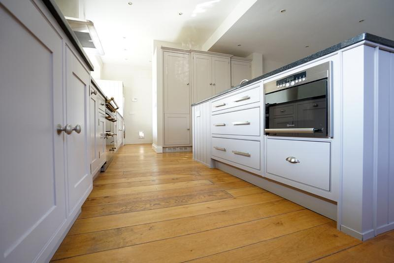 Image 147 - Farrow & Ball colours on a lovely handmade kitchen (from cream to two contrasting grey's).