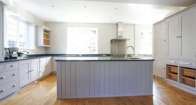 Image 144 - Farrow & Ball colours on a lovely handmade kitchen (from cream to two contrasting grey's).