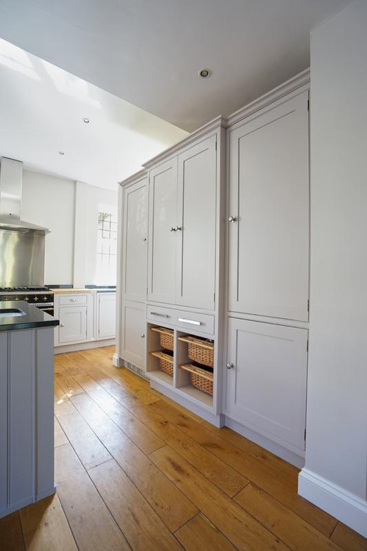 Image 151 - Farrow & Ball colours on a lovely handmade kitchen (from cream to two contrasting grey's).