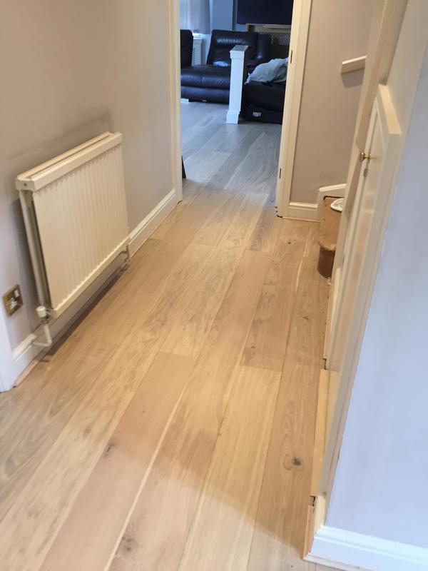 Image 4 - Laminate floor fitted throughout ground floor by DKM Developments Ltd, builders, Great Dunmow, Essex.