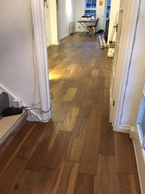 Image 24 - All through semi-engineered wood flooring, Thornwood, Essex by DKM Developments Ltd, builders, Great Dunmow.