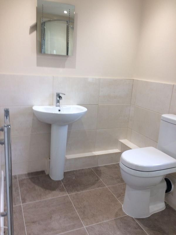Image 13 - Ensuite fitted in extension built by DKM Developments Ltd builders Great Dunmow Essex