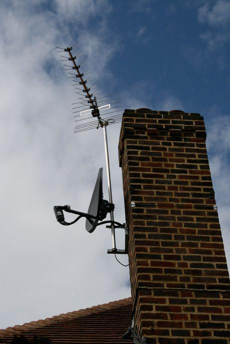 Image 7 - aerial and sat  installation