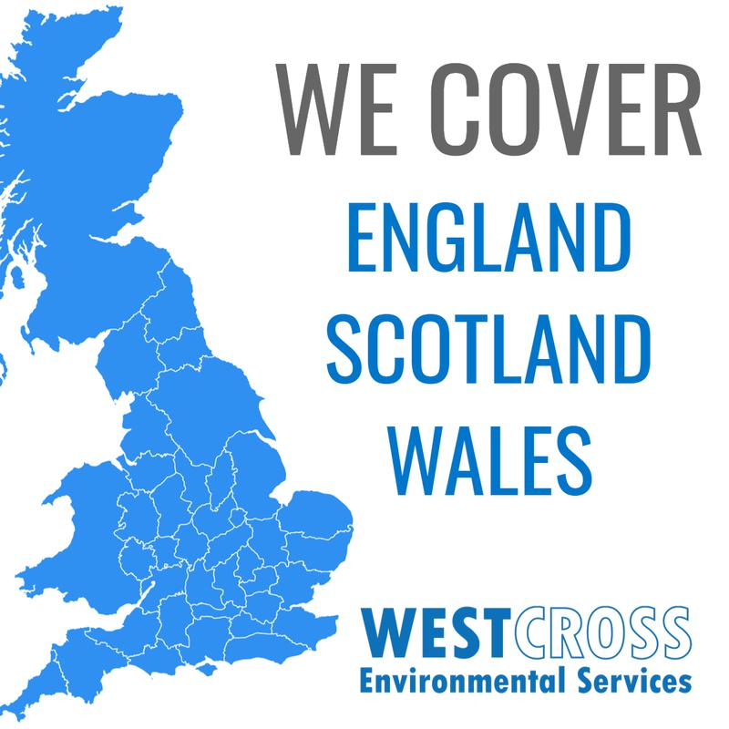 Image 5 - At WestCross Environmental Services we offer nationwide coverage for our clients no matter where you are