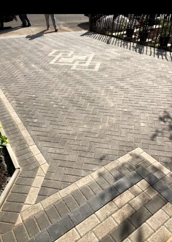 Image 46 - Front block paving