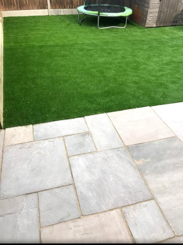 Image 45 - Slabs with new lawn
